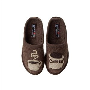 Used, Haflinger Coffee Slippers for sale